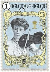 08 Reine Elisatbeth timbre 2