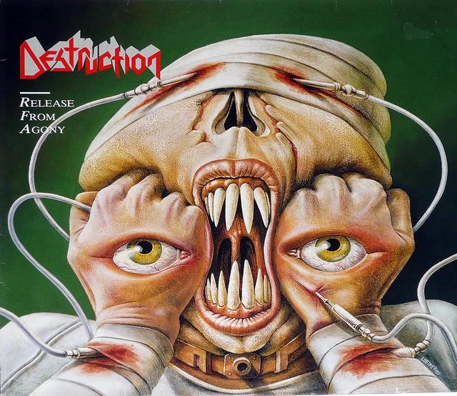 "DESTRUCTION RELEASE FROM AGONY 12"" Vinyl LP"