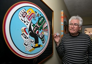 Canadian coin designer Richard Hunt