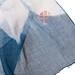 La Boutique Extraordinaire - Betty de Paris - Echarpe en gaze de coton teint à l'indigo naturel - Détail