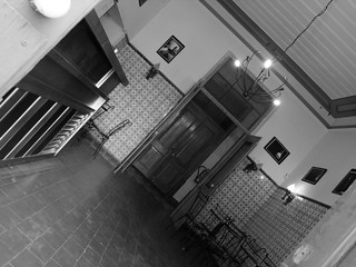 The bar at the Sociedade Recreativa Olhanense