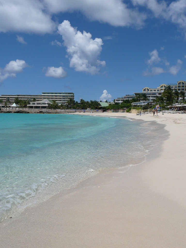 Maho Beach in St. Maarten