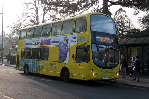 VGW181 Yellow Buses Bournemouth HF03ODV