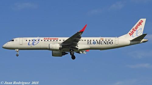 EC-LCQ - Air Europa  Embraer 195LR (ERJ-190-200LR)