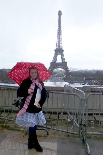 Eiffeltower Rain