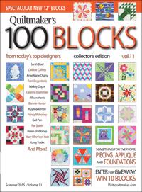 Quiltmaker's 100 Blocks vol. 11