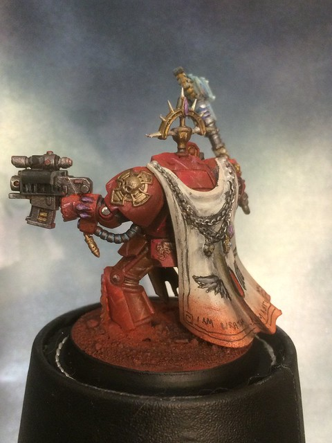 Deathstorm Blood Angels First Captain Arenos Karlaen