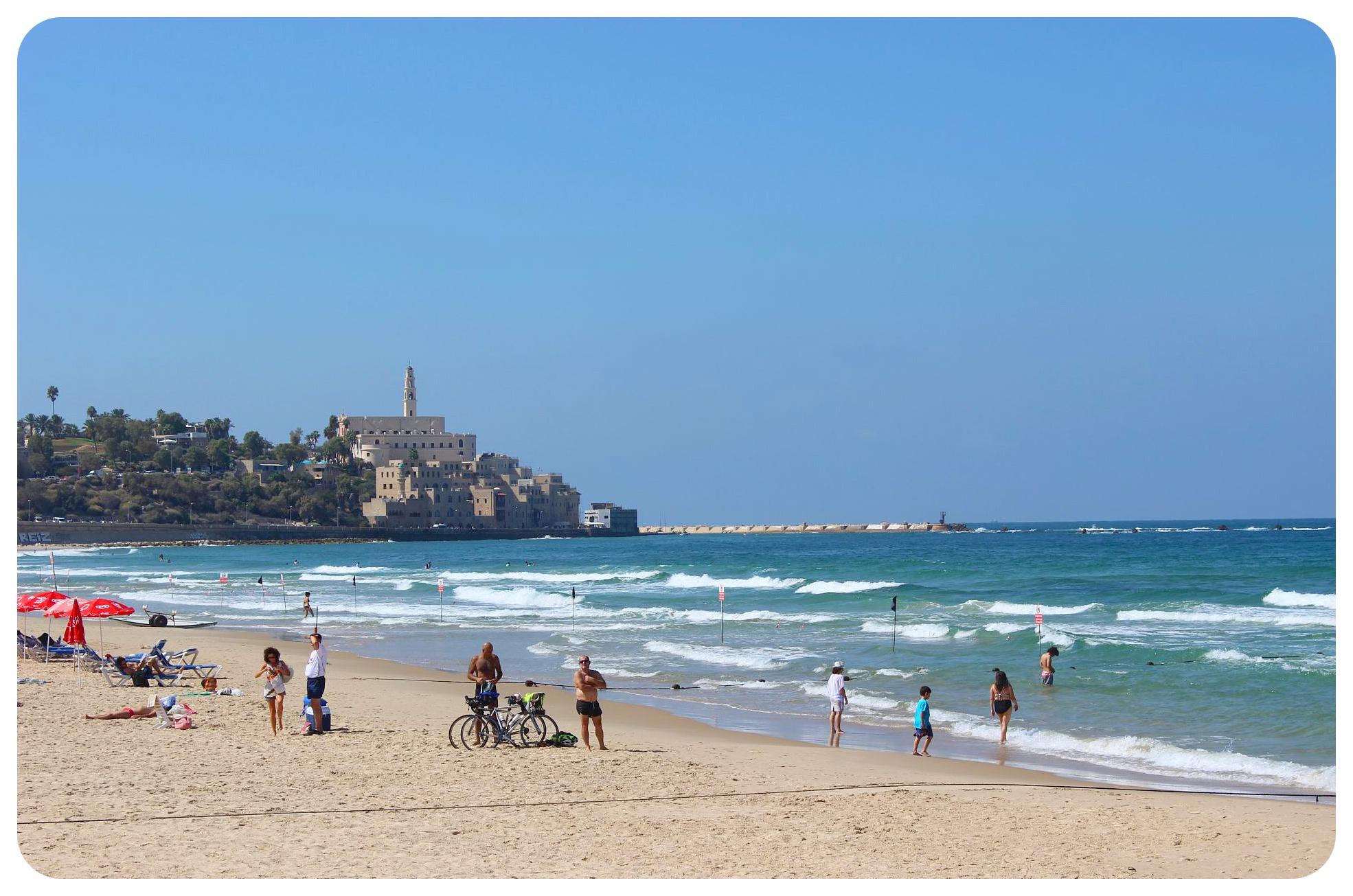 tel aviv yaffo beach