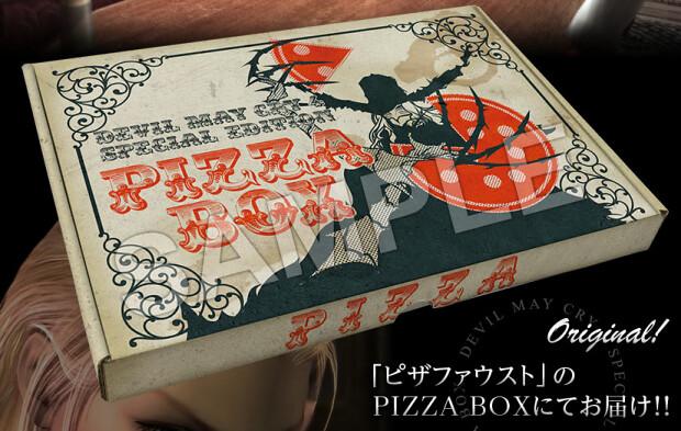 Edição limitada de Devil May Cry 4: Special Edition virá em uma Caixa de Pizza