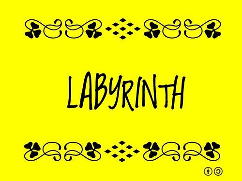 Buzzword Bingo: Labrynth #WorldLabyrinthDay