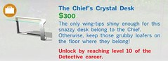The Chiefs Crystal Desk