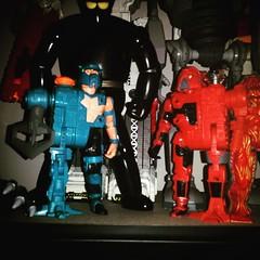 2 more of my all-time favorite figures. #Hacker #centurions #DocTerror #Legion #powerxtreme #Kenner #toysagram #toyhustle #ragingnerdgasm #TomKhayos #toyhunting #BlackOx #IronGiant #ToyGameTedDiBase #80s