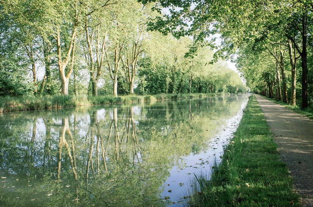 Le long du canal du Tarn - Carnet de voyage France