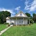 Small photo of AMERICAN GOTHIC HOUSE, ELDON, IOWA