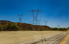 Angeles National Forest Power Lines