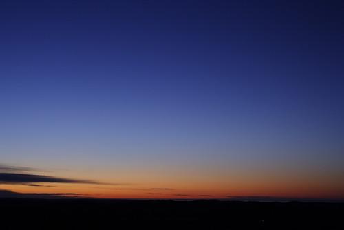黎明の十勝平野