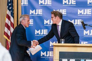 Rabbi Mark Wildes and MK Michael Oren