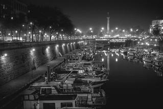 Port de l'Arsenal, Paris, France