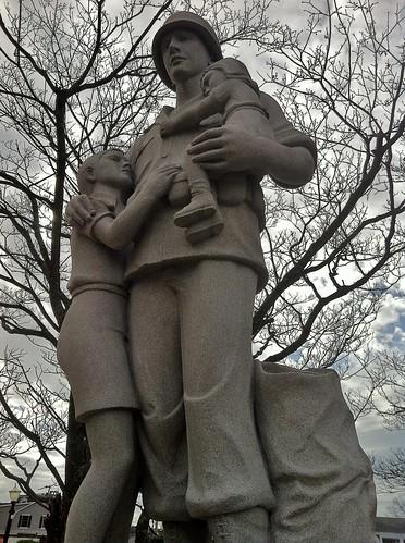 Westerly Pawcatuck War Memorial by ArtFan70, via I {heart} Rhody