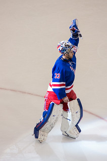#33 Cam Talbot - First star of the game with 38 saves!