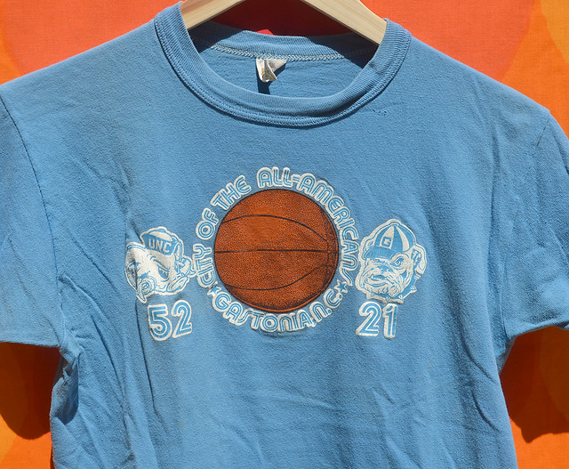 sleepy floyd james worthy gastonia 70s t-shirt