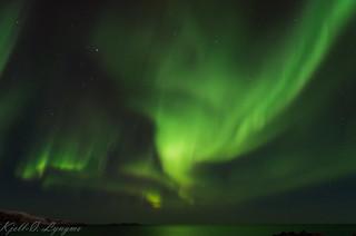 Aurora over Vardø.