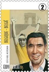16c Eddy Merckx timbre