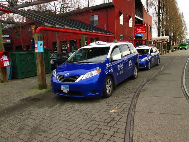 McClures taxis at Granville Island