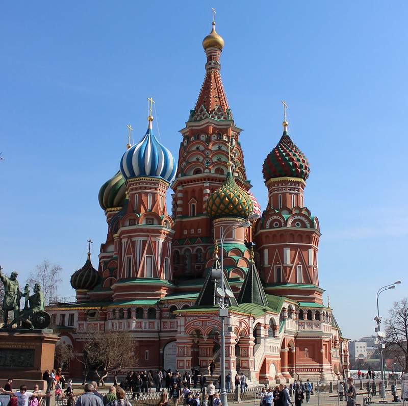 Saint Basil's Cathedral from Red Square
