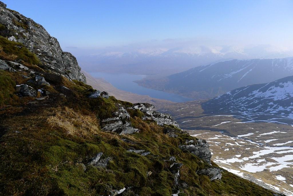 Loch Monar from Sgurr a'Chaorachain