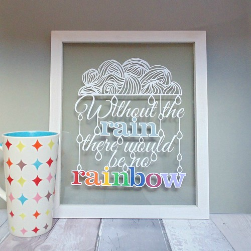 Without the Rain Papercut