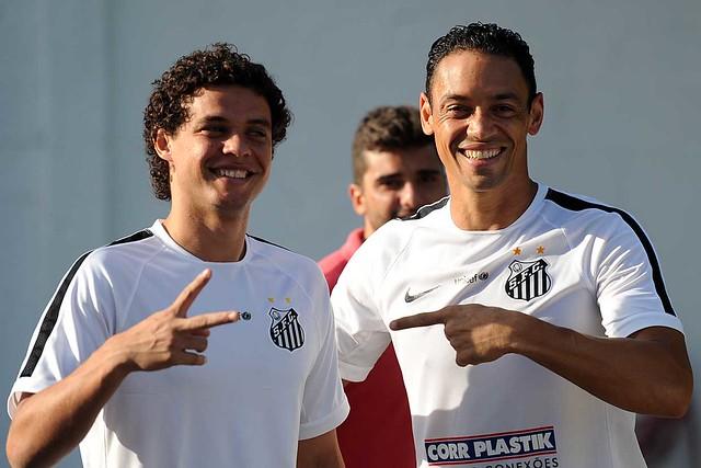 Victor Ferraz e Ricardo Oliveira