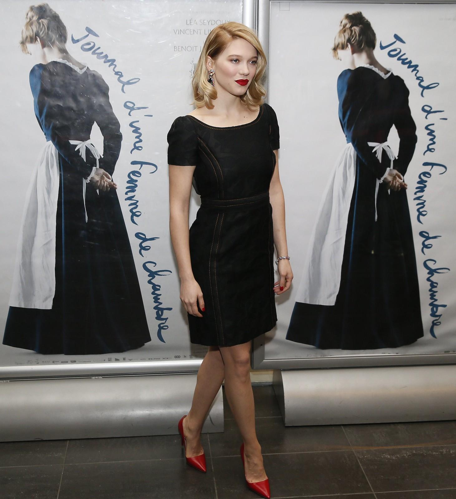 Lea Seydoux Journal D Une Femme De Chambre Premiere in Paris 3