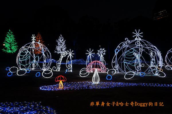 日本大阪城公園梅林城天守閣3D光之陣14
