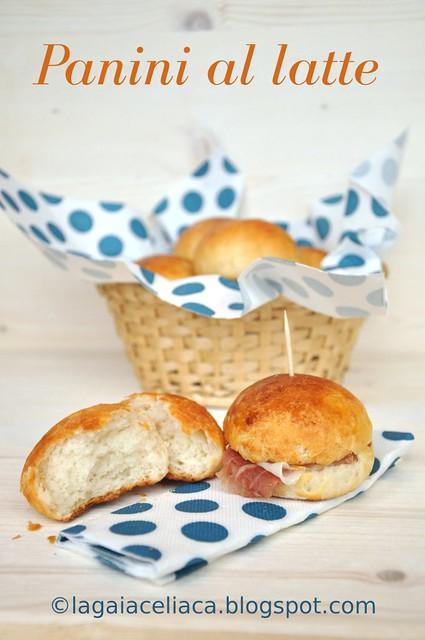 panini al latte senza glutine / gluten free milk rolls