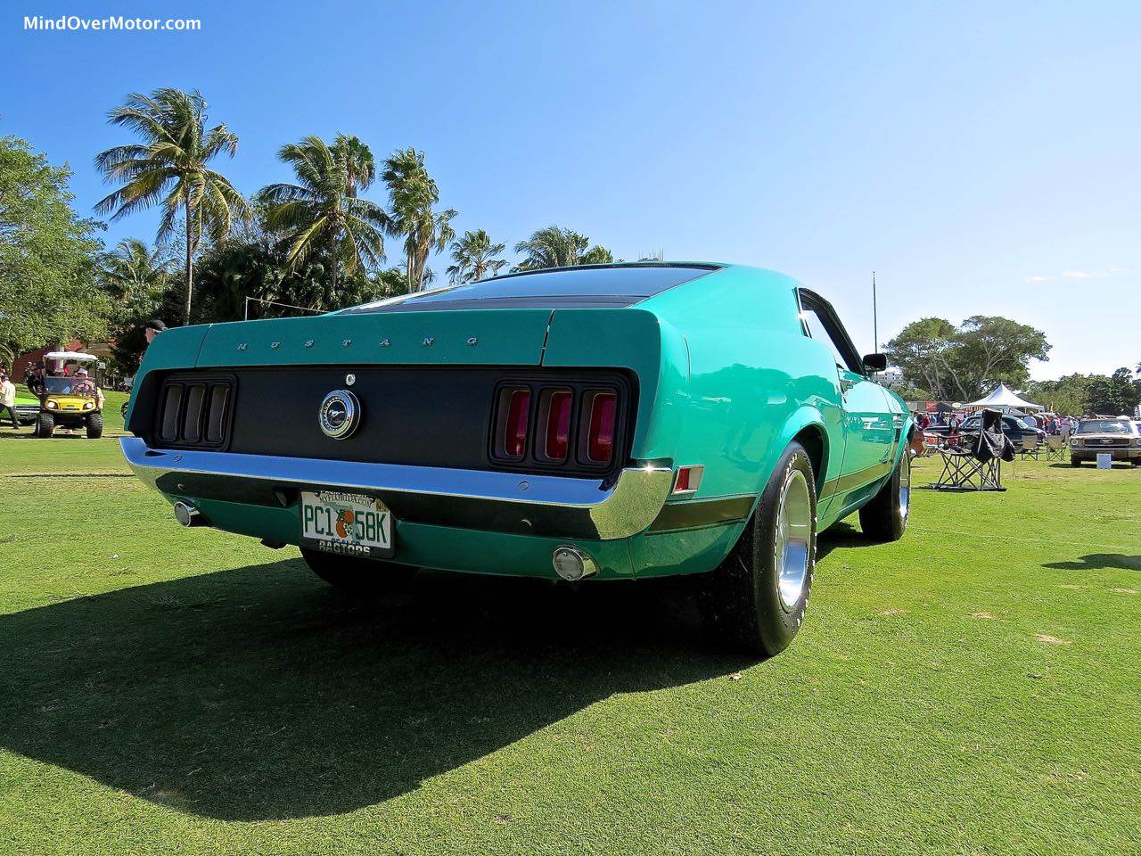 1970 Ford Mustang Boss 302 Rear