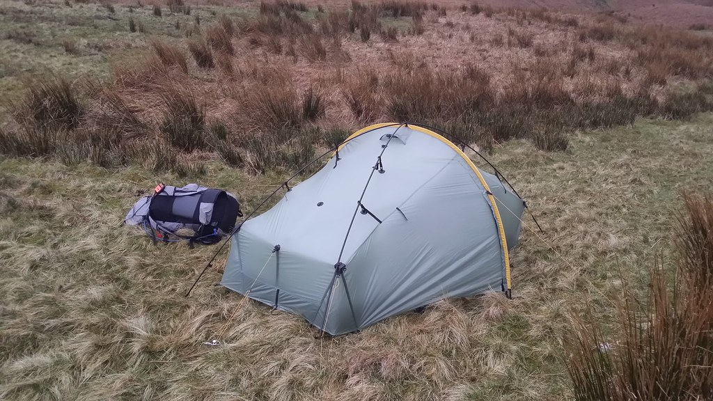 Monday's camp at High Nook Tarn #sh