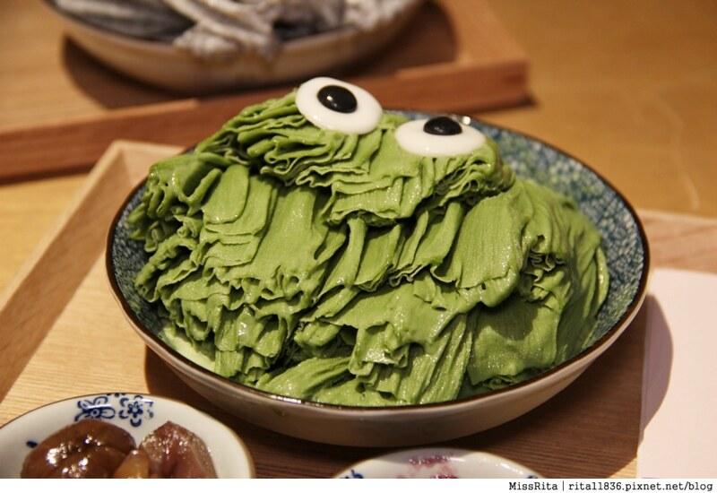 台中冰店 路地 冰之妖怪 眼睛冰淇淋 路地 氷の怪物14