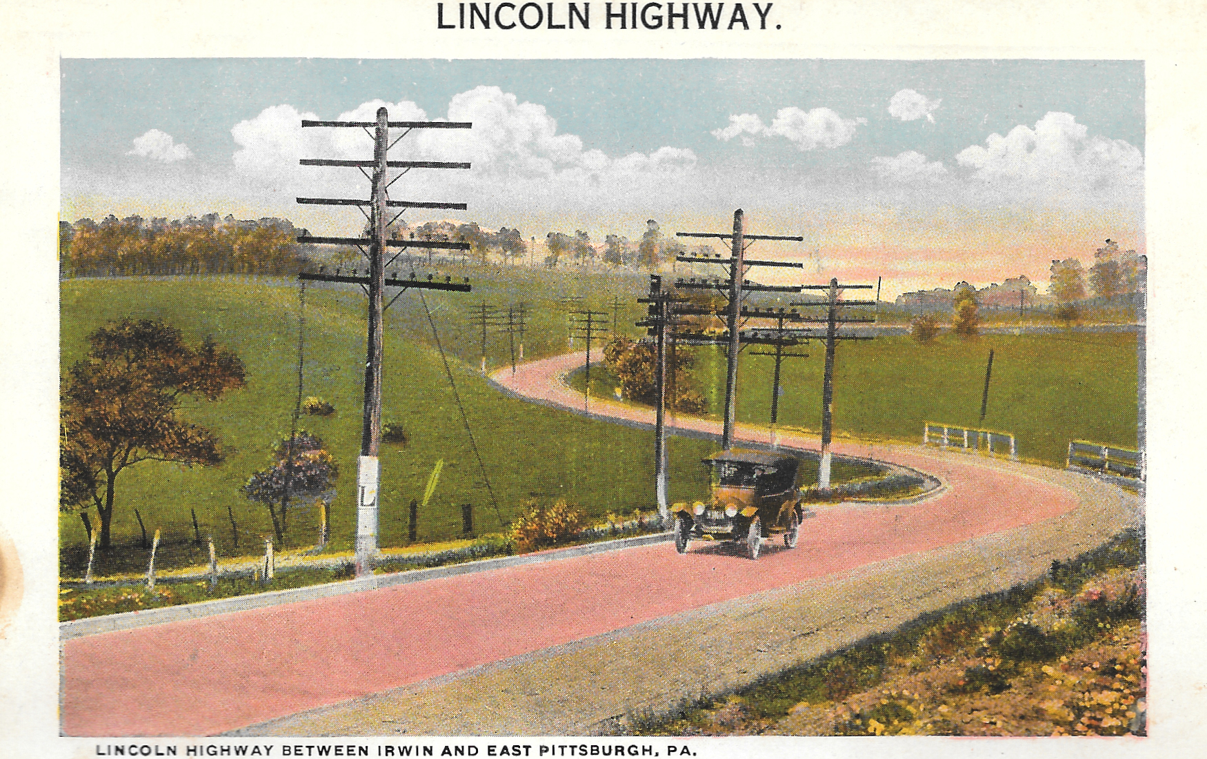 Lincoln Highway Postcards-1