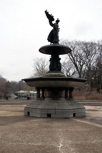 Central Park: Bethesta fountain