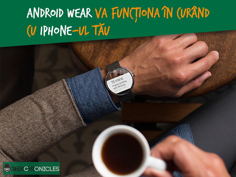 iOS compatibil cu Android Wear