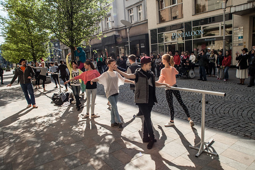 Mezinárodní den tance v Ostravě 2015