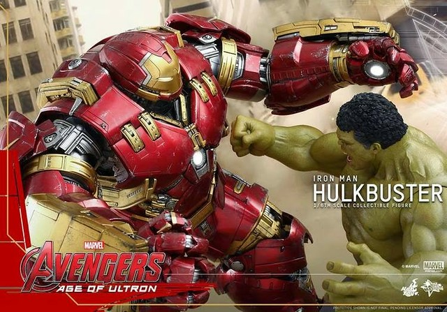 LEGO 76031 The Hulk Buster Smash move Hot Toys figure Hulkbuster 3
