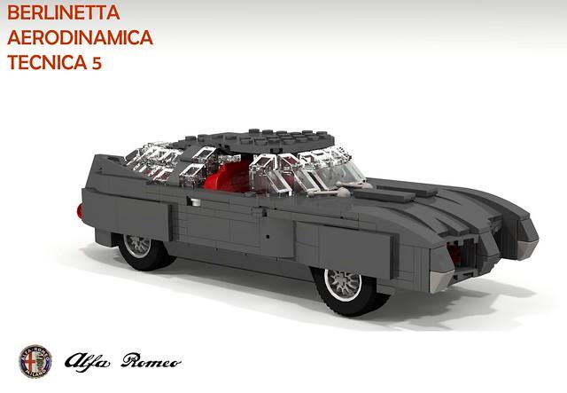 Alfa Romeo BAT5 (Berlientta Aerodinamica Tecnica - Bertone 1953)