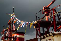 Fireboat Duwamish Nautical Flags, Seattle WA