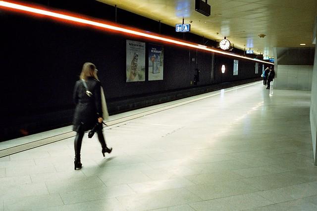 Zürich - Cinestill 800T film