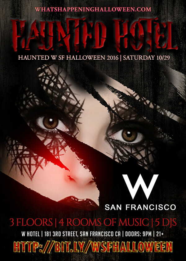 Perfect W San Francisco Halloween 2016 | 5th Annual Haunted W SF Hal ...