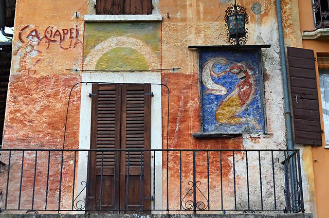 Old building, Gardone Riviera, Lake Garda, Italy