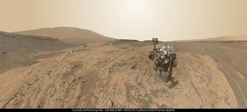 mars curiosity selfie msl