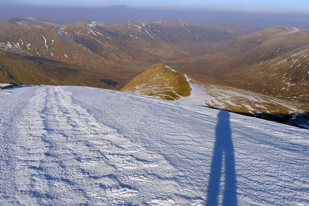 On the north ridge of Sgurr a'Chaorachain